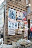 Cartazes soviéticos da guerra. Fotos de Stock