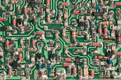 Carte à circuits estampé Photographie stock