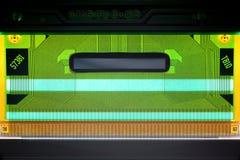 Carte électronique d'affichage à cristaux liquides Photo stock