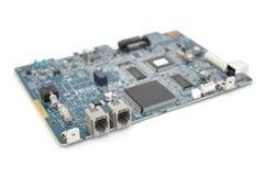 Carte électronique de l'électronique - circuit de FAX Images stock