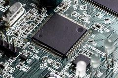 Carte électronique électronique de carte PCB Images stock