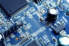 Carte électronique électronique de carte PCB Image stock