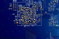 Carte électronique de puce Images stock