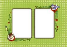Carte 10 de gosses Image stock