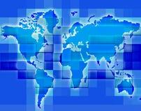 Carte 2 du monde illustration de vecteur