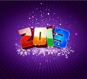 Carte 2013 de Noël Photos libres de droits