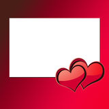 Carte 3 de Saint-Valentin Photographie stock