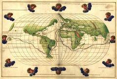 Carte antique Image libre de droits