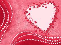 Carte avec amour Photos stock