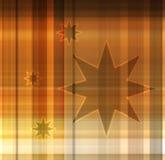 Carte avec des trames d'étoile Photo libre de droits