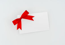 Carte avec les proues rouges de bandes Photos libres de droits