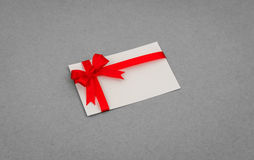 Carte avec les proues rouges de bandes Photo libre de droits