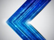 Carte bleue Illustration de Vecteur