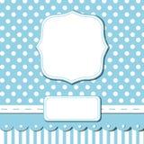 Carte bleue de chute Photo stock