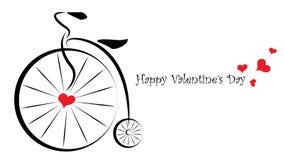 Carte cadeaux de jour de valentines - pour lui Photo stock
