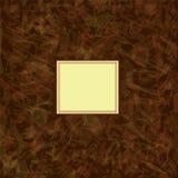 Carte carrée d'invitation dans la conception d'aquarelle     Photographie stock