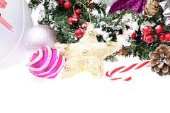 Carte classique élégante de fond de Noël pour Image stock