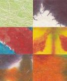 Carte colorate Immagini Stock