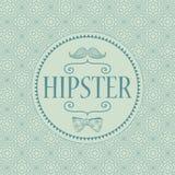 Carte décorative de hippie Photo stock