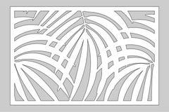 Carte décorative réglée pour la coupure illustration de vecteur