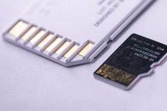 Carte d'écart-type et carte micro d'écart-type à coté Image libre de droits