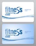 Carte d'adhésion de centre de fitness. illustration stock