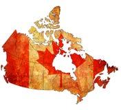 Carte d'administration de Canada Illustration de Vecteur