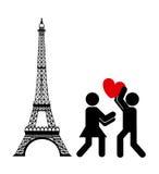 Carte d'amour Photos libres de droits