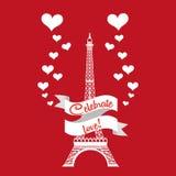 Carte d'amour Photo stock