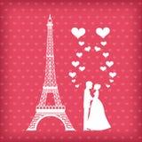 Carte d'amour Photos stock