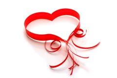 Carte d'amour Photo libre de droits