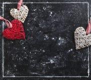 Carte d'amour Carte postale de jour du `s de Valentine Photographie stock