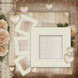 Carte d'amour de vintage Image stock
