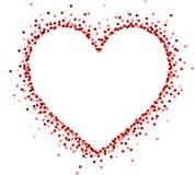 Carte d'amour du ` s de Valentine illustration libre de droits