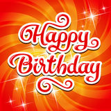 Carte d'anniversaire Photo stock
