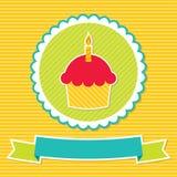 Carte d'anniversaire illustration libre de droits