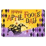 Carte d'April Fools Day de vintage Image stock