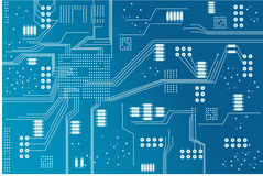 Carte d'Eclectronic Photo libre de droits