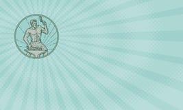 Carte d'Energy Foods Business de forgeron Image libre de droits