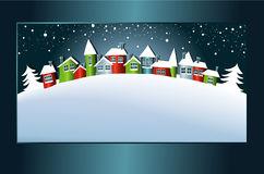 Carte d'hiver illustration libre de droits
