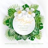Carte d'invitation d'événement de mariage Photos libres de droits