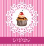 Carte d'invitation Image stock