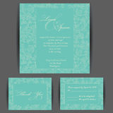 Carte _1 d'invitation Image stock