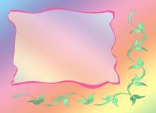 Carte d'invitation illustration libre de droits