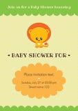 Carte d'invitation de fête de naissance Photos stock