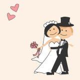 Carte d'invitation de mariage Photo libre de droits