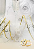 Carte d'invitation de mariage illustration de vecteur