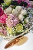 Carte d'invitation de mariage Images stock