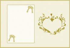 belle carte d 39 invitation de mariage images stock image. Black Bedroom Furniture Sets. Home Design Ideas