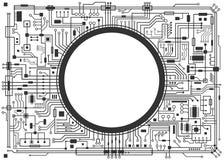 Carte d'ordinateur illustration libre de droits